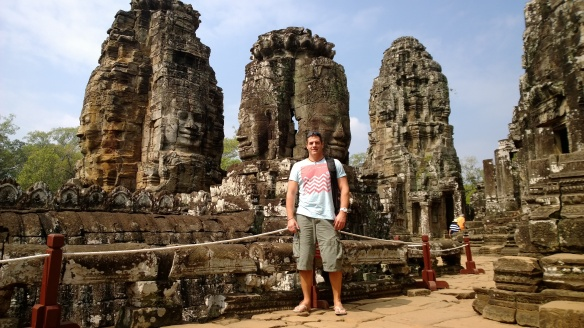 Me at Bayon Temple