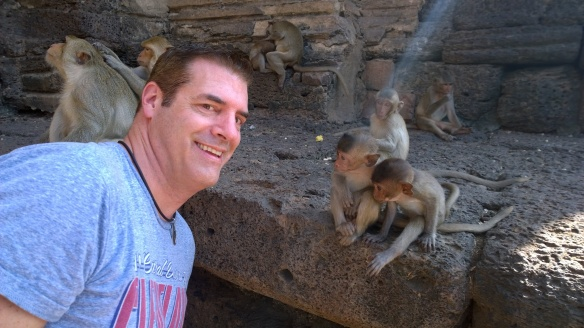 Me and my monkey buddies