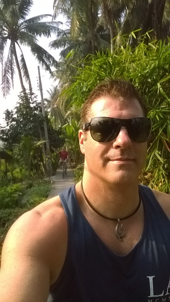 Selfie along the path